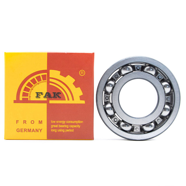 Simple structure FAK Deep Groove Ball Bearing 61804