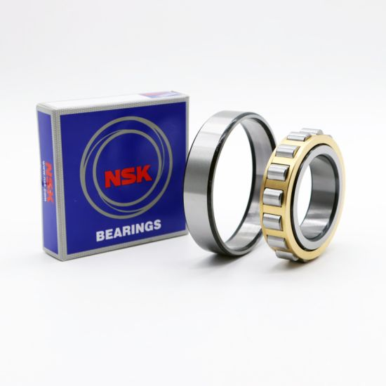 NSK High Speed Bearings N315 N315e N315etn1 N317 N317e Cylindrical Roller Bearing