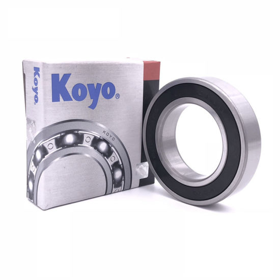 Koyo Long Service Life Deep Groove Ball Bearing 6315/6315-Z/6315-2z/6315-RS/6315-2RS for General Purpose Machinery From China Company Distribution
