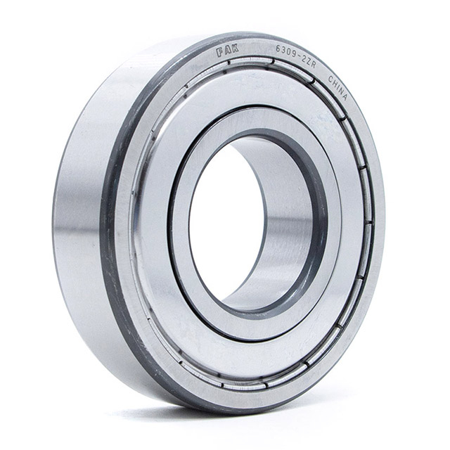 Construction Machinery FAK Deep Groove Ball Bearing 608 2RS